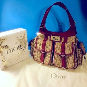 ❤️DIORISSIMO STREET CHIC TROTTER BAG GORGEOUS!!